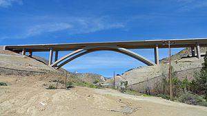 Cathedral arch - Galena Creek Bridge
