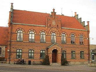 Simrishamn - Image: Gamla rådhuset, Simrishamn