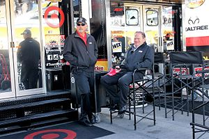 Chip Ganassi - Ganassi and Lorin Ranier at Las Vegas Motor Speedway in 2014