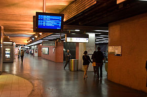 A picture of Gare de Lyon underground station