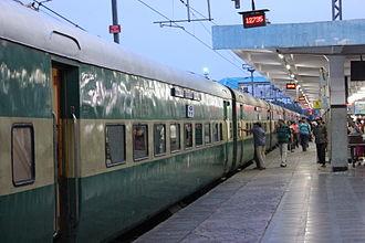 Superfast/Mail Trains in India - Bhopal Garibrath Express is a Superfast Train
