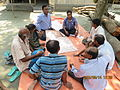 Gathering in a meeting of villagers in an Bangladeshi village 2015 37.jpg