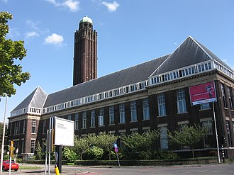 History of the Delft University of Technology - Former Aula of TU Delft, since 2008 hosting the Faculty of Architecture.