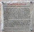Gedenktafel Domplatz (Meißen) Fürstenkapelle.jpg