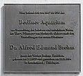 Gedenktafel Unter den Linden 62 (Mitte) Alfred Edmund Brehm.jpg