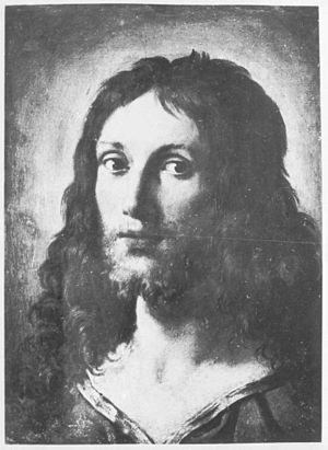 Lost artworks - A lost Christus head by Annibale Carracci