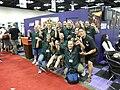 Gen Con Indy 2008 - Pathfinder crew 4.JPG