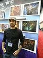 Gen Con Indy 2008 - artist 3.JPG