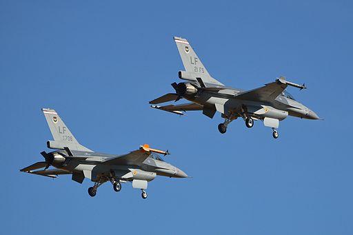 General Dynamics F-16A '93-708 - LF' & '93-711 - 21FS - LF' (13914850295)