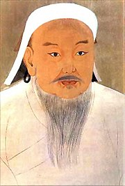 Genghis Khan, founder of the Mongol Empire and Mongol Nation.