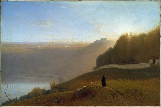 George Inness - Lake Nemi - 49.412 - Museum of Fine Arts