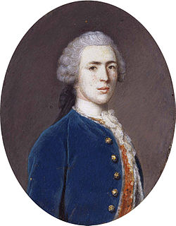 George walpole, 3rd earl of orford, by jean etienne liotard