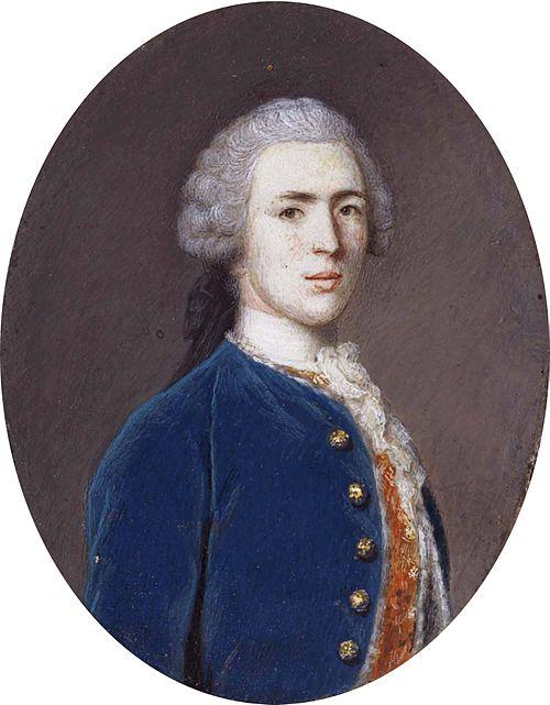 George walpole, 3rd earl of orford, by jean etienne liotard