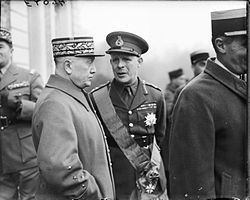 Georges and Gort at Arras WWII IWM F 2094.jpg