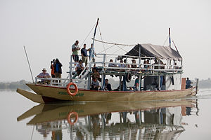 Economy of the Gambia - Bird-watching tourists in the Gambia