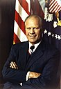 Official portrait of Gerald R. Ford.