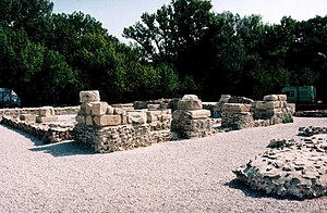 Pannonia - Gerulata- a Roman military camp located near today's Rusovce, Slovakia.