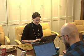 Getting to Know Your Archdiocese A Wikipedia Editing Workshop 9950.jpg