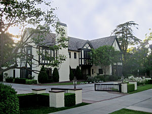 Windsor Square, Los Angeles - Getty House, 2008