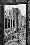 gevel na de brand van 1967 (openingsfoto, rijksdienst voor de monumenten zorg ) - zeist - 20221512 - rce