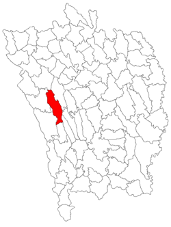 Location of Gherghești
