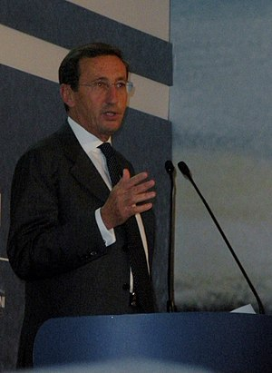 Gianfranco Fini, italian politician.
