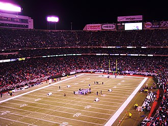 Monday Night Miracle (American football) - Image: Giants stadium
