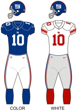 Dresy New York Giants