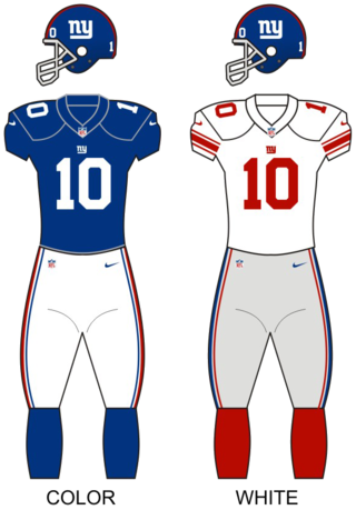 New York Giants National Football League franchise in East Rutherford, New Jersey