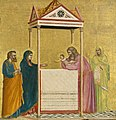 Giotto - The Presentation of the Christ Child in the Temple - P30w9 - Isabella Stewart Gardner Museum.jpg