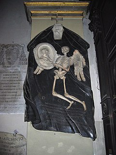 <i>Memorial to Alessandro Valtrini</i> Artwork by Gianlorenzo Bernini