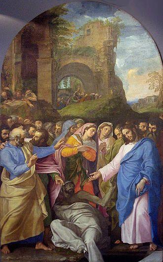 Girolamo Muziano - Resurrection of Lazarus, 1556. Museo dell'Opera del Duomo, Orvieto