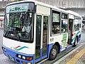 Global Kōtsū Bus at Misato-chuo Station 02.jpg