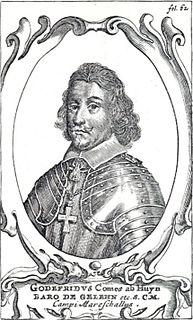 Gottfried Huyn von Geleen Dutch fieldmarshal