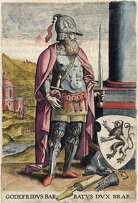Godefroy V., Basse Lorraine, Duc