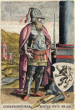 Godfrey I, Count of Louvain - Image: Godfrid 1