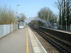 Godstone railway station - Image: Godstone Station, Surrey geograph.org.uk 1214212