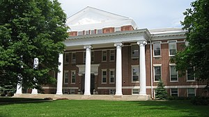 University of Indianapolis - Good Hall, the university's original building