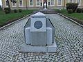 Gornji Milanovac, Spomenik ispred Kulturnog centra, 01.jpg
