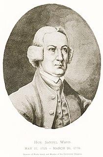 Samuel Ward (American statesman) American farmer, politician, and jurist