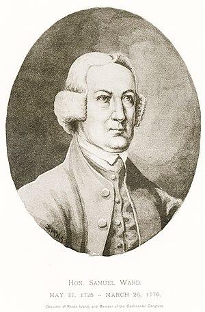 Samuel Ward (American statesman) - Samuel Ward