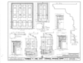 Governor Samuel Pickens House, State Route 14, Sawyerville, Hale County, AL HABS ALA,33-SAWV.V,1- (sheet 7 of 8).png