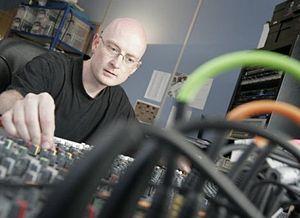 Graeme Norgate - Norgate developing music at Free Radical Design in 2006.