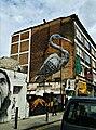 Graffiti in Shoreditch, London - Crane by Roa (9422244129).jpg