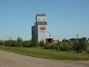 Aberdeen, Saskatchewan - Grain elevator at Aberdeen