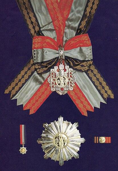 Archivo: Gran Orden del Rey Tomislav.jpg