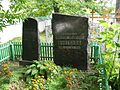 Grave of the writer Valentin Fedorovich Bulgakov IMG 4554.JPG