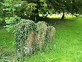 Gravestones, The Church of St Peter ad Vincula, Broad Hinton - geograph.org.uk - 1437286.jpg