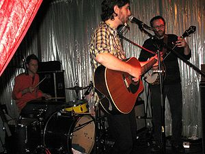 Great Lake Swimmers - Playing at the Tsunami Club in Köln.