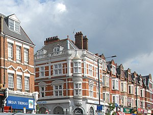 Harringay - A section of Grand Parade, Green Lanes, Harringay